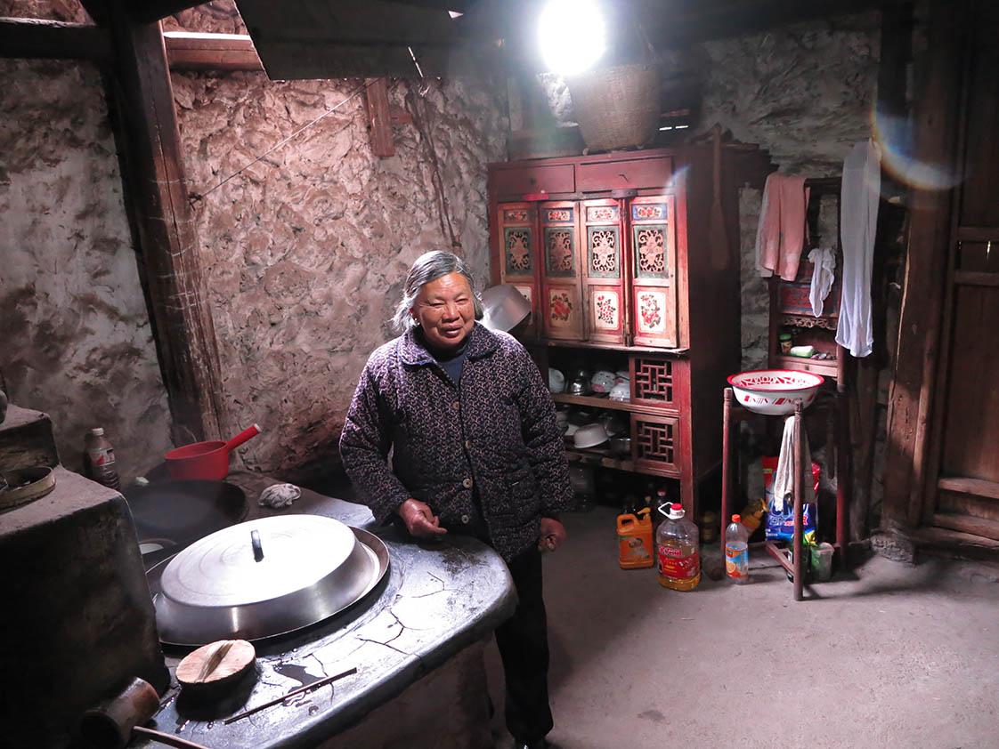 A woodburning stove serves them well. (Jock Lauterer photo)